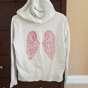 Victoria's Secret zip up sweatshirt